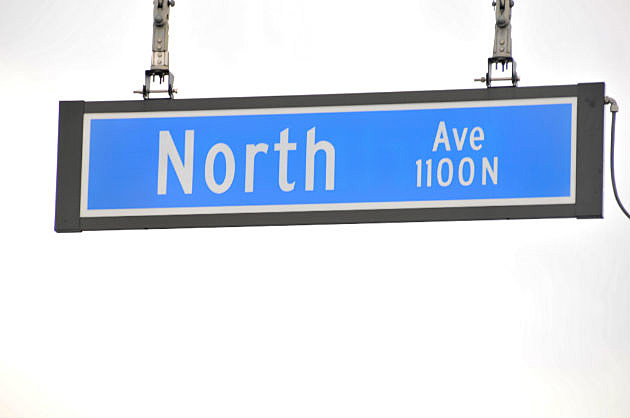 North Ave Changed to University