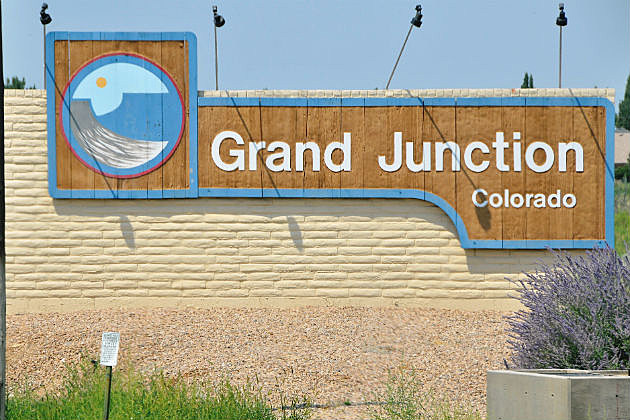 Grand Junction City Sign