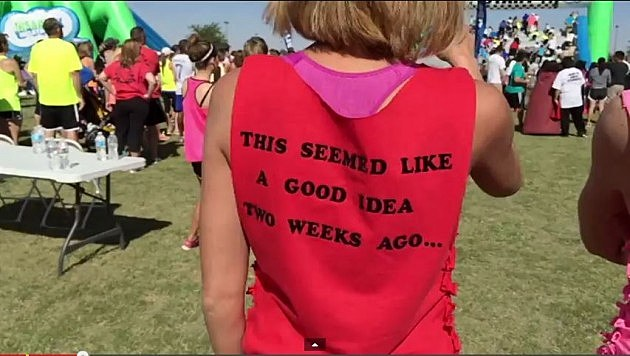 shirts you need to make for the insane inflatable 5k this