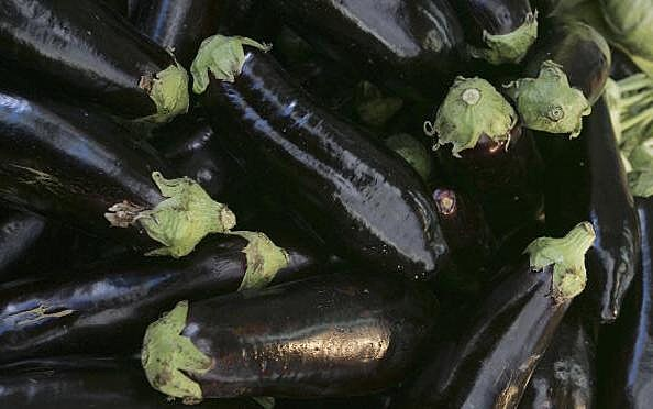 Eggplant Seeds Spell God