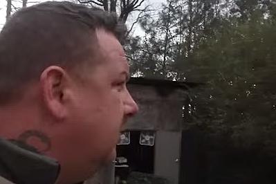 Backyard facial video