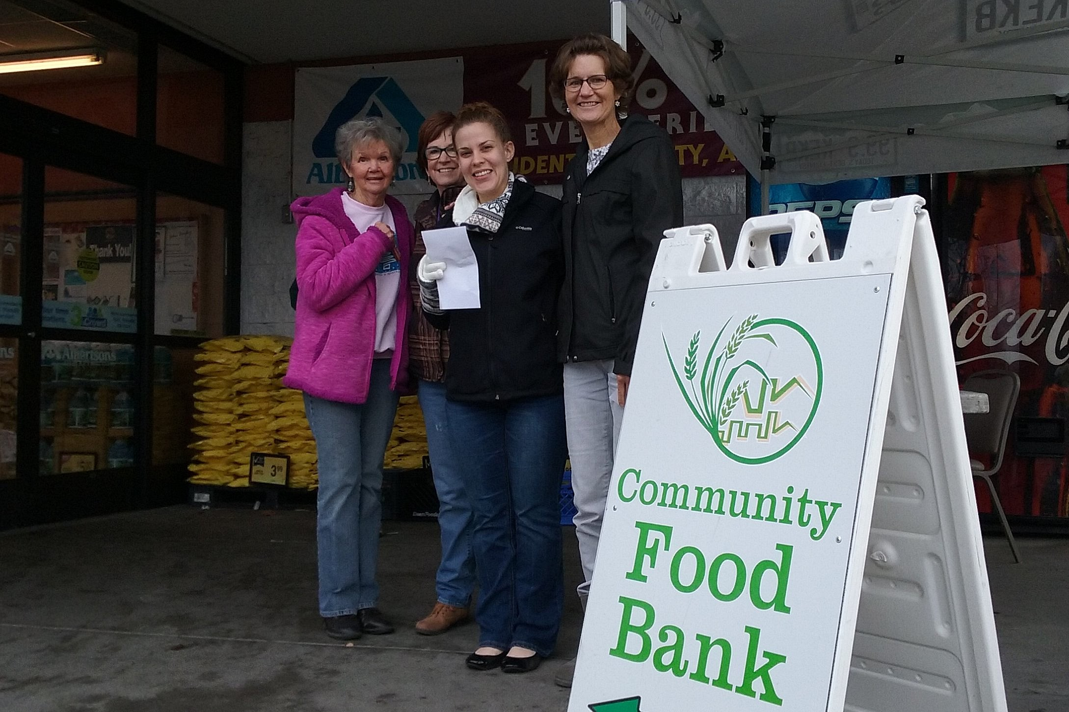 Grand Junction Community Food Bank Stocking Up