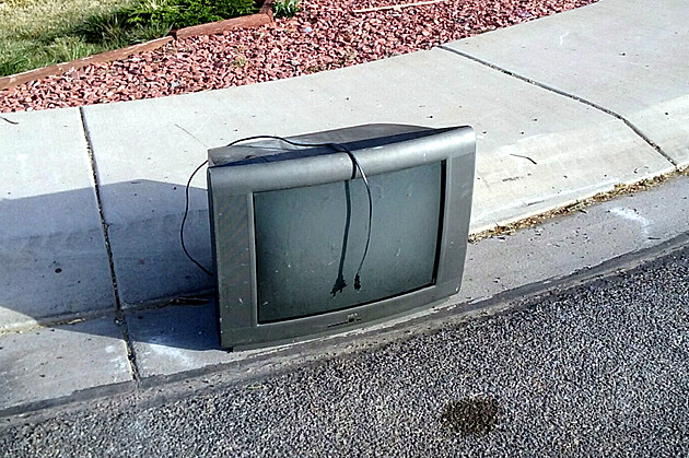 TV Left Behind on Grand Junction Street