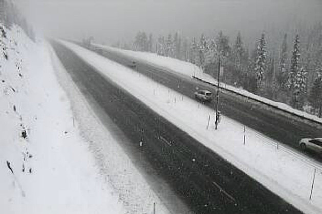 West of Eisenhower tunnel