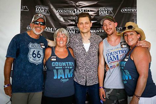 Colorado Legacy Coffee Backstage with Frankie Ballard at Country Jam 2017