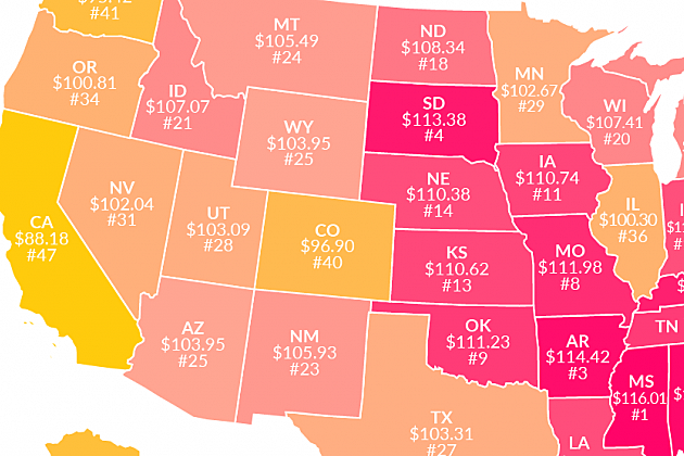 How Far Does $100 Go in Colorado Compared to Other States?