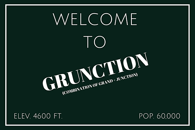 Change Grand Junction's Name