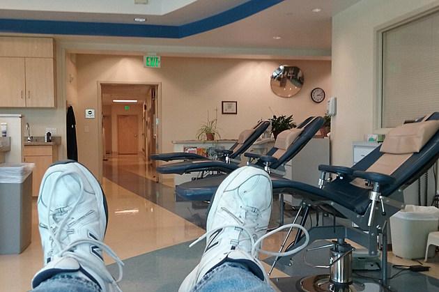 Blood Donation Room