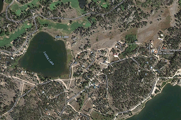 'Nofing Way' Real Street Name in Red Feather Lakes Colorado